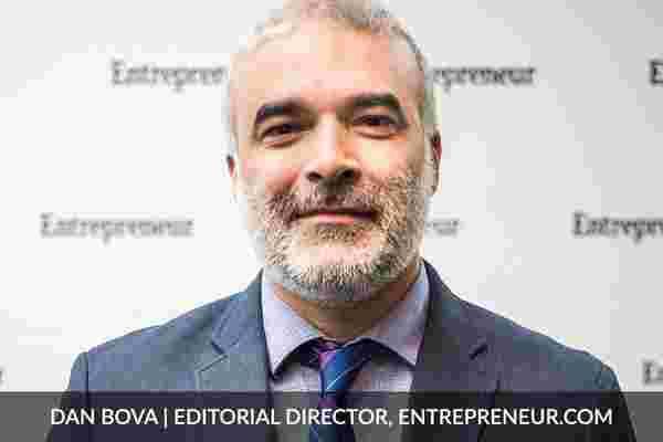 与丹·波瓦 (Dan Bova) 询问企业家