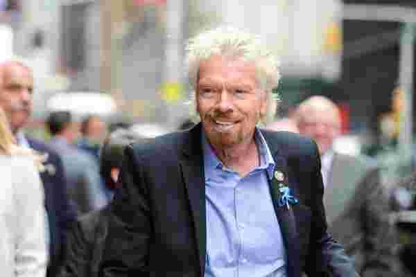 理查德·布兰森 (Richard Branson) 如何建立自己的50亿美元财富