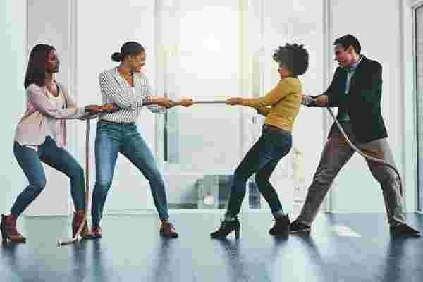 健康的办公室竞争建立团队并提高生产率的6种方式